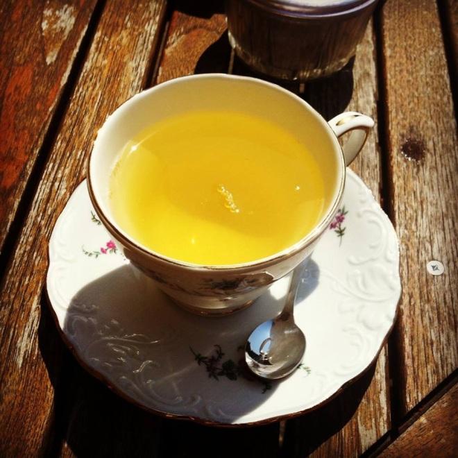 Tea in France..